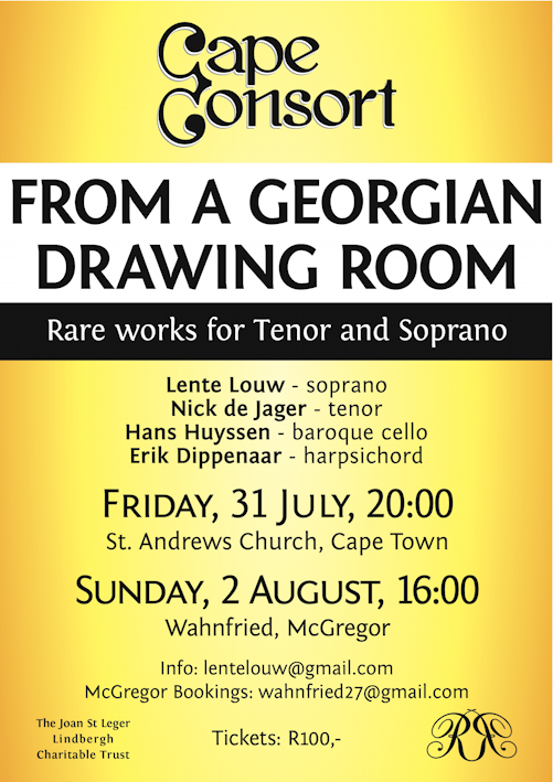 Drawing room poster, 31.7.15